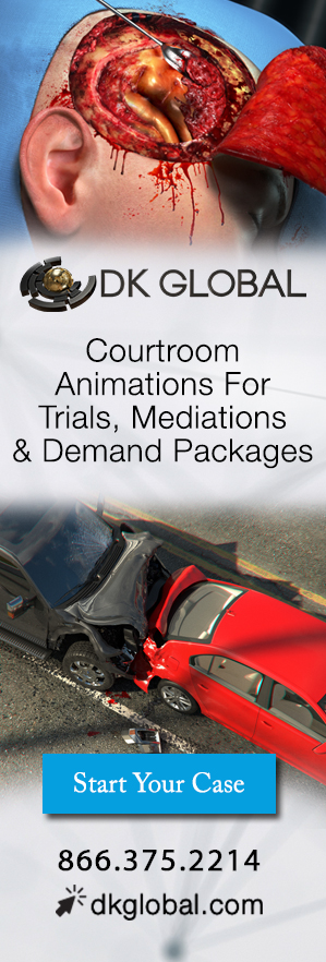 DK Global - Courtroom Animations for Trials, Mediations, Demand Packages