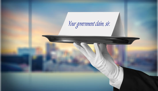 Claims presentation requirements under the Government Claims Act