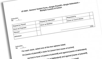 An appellate perspective on verdict forms