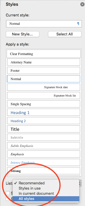 Use Microsoft Word to automate your tables of contents and authorities